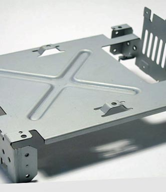 Sheet metal laser cutting forming part